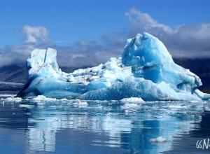 Iceberg en Islande ©Sophie Goubeau