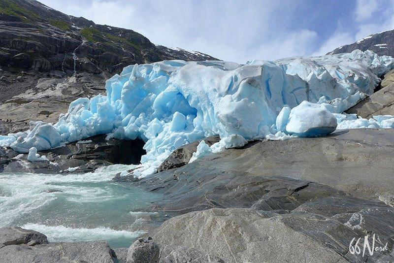 Glacier Nigardsbreen en Norvège du Sud ©Alisson Guillôme