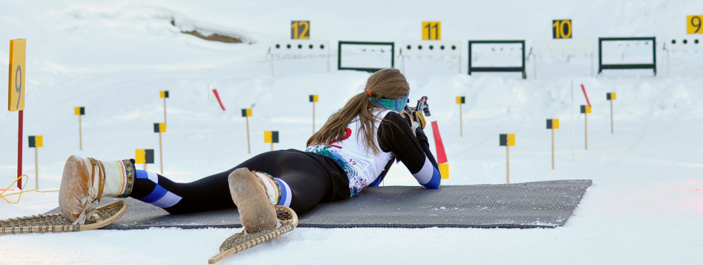 ARCTIC WINTER GAMES BIATHLON