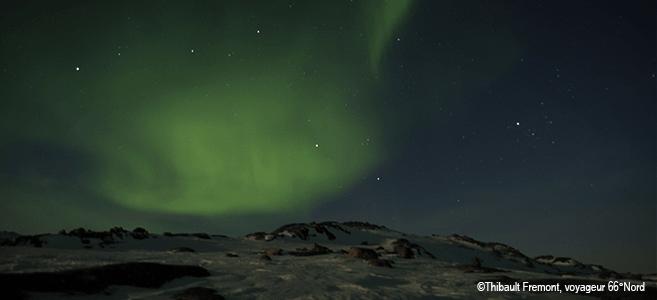 Photo aurore boreale