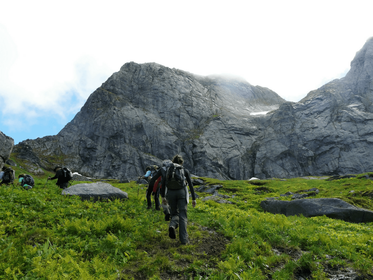 Montagne du Ryten aux Lofoten