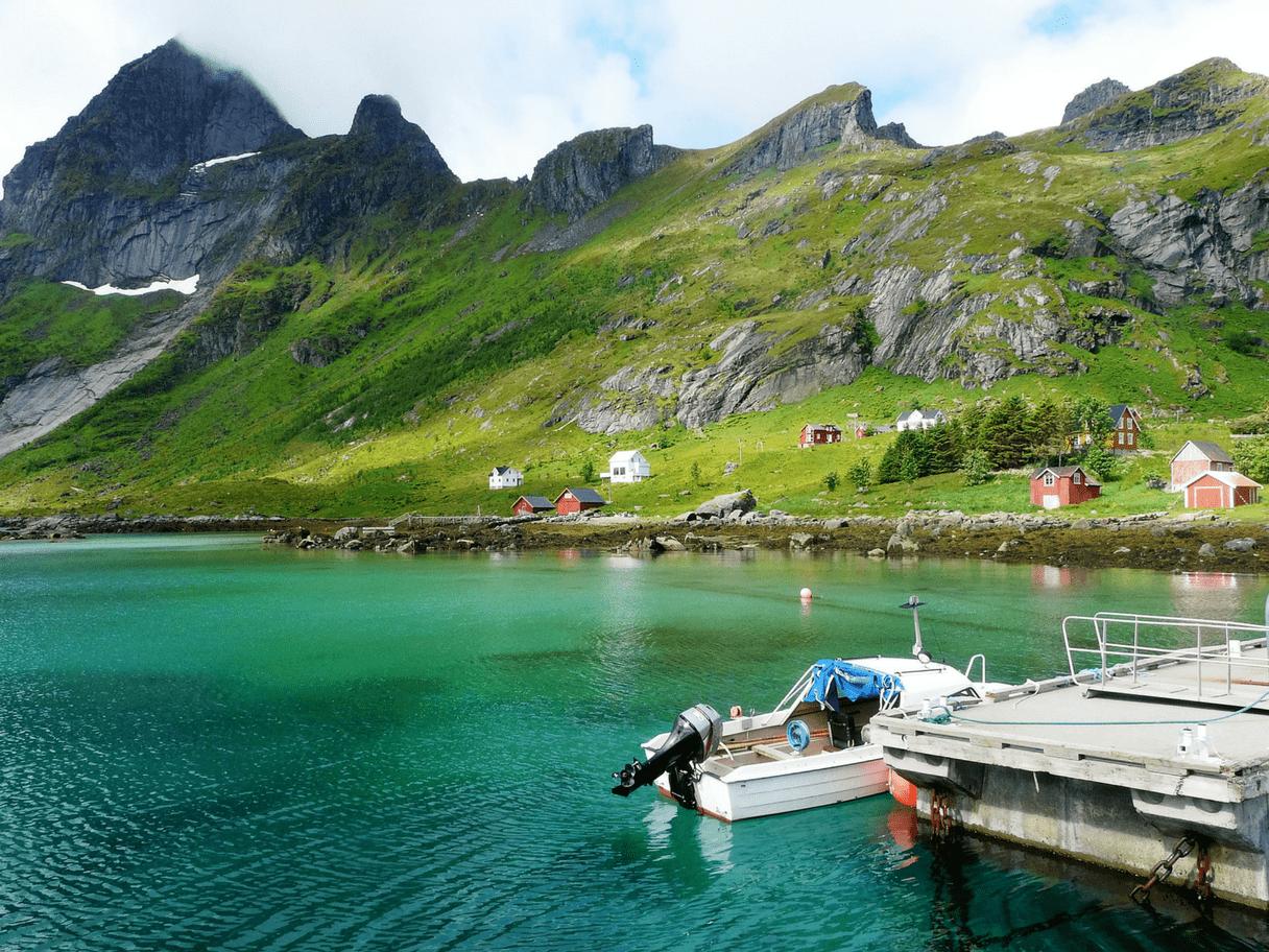 Iles Lofoten en été