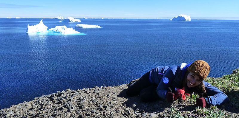 Voyage au Groenland d'Emmanuelle spécialiste 66° Nord