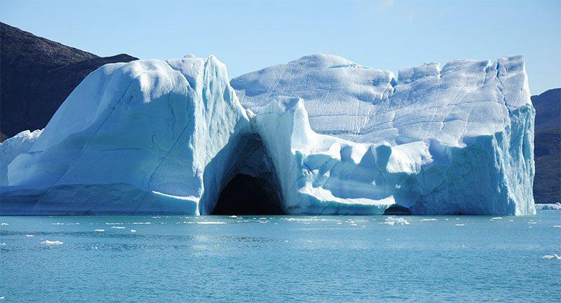 Iceberg du Groenland, dans la baie de disko