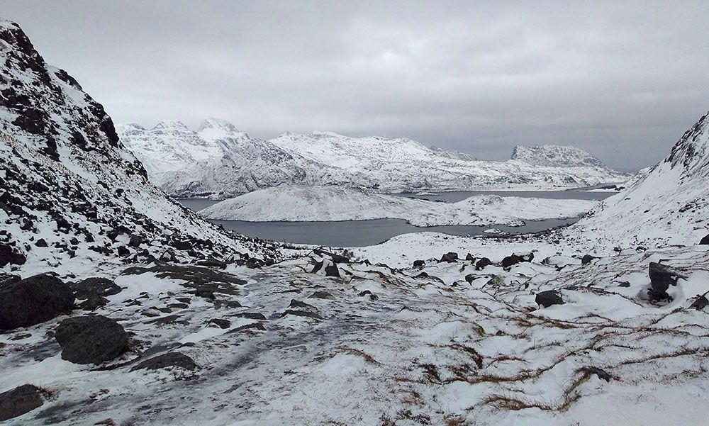 Lofoten en hiver
