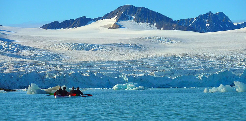 Voyage au Spitzberg, kakan et randonnée au Svalbard