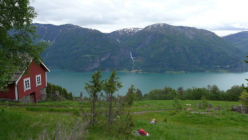 Lustrafjord Norvège