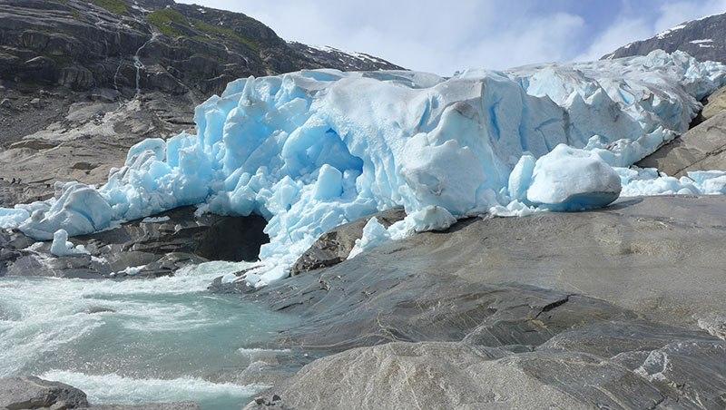 Glacier de Nigardsbreen, Norvège du Sud