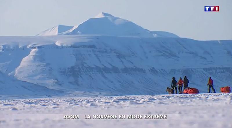 66°Nord Spitzberg sur TF1