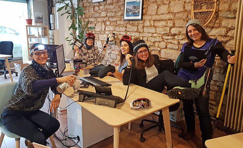 L'équipe de nos 5 conseillères voyages polaires 66°Nord