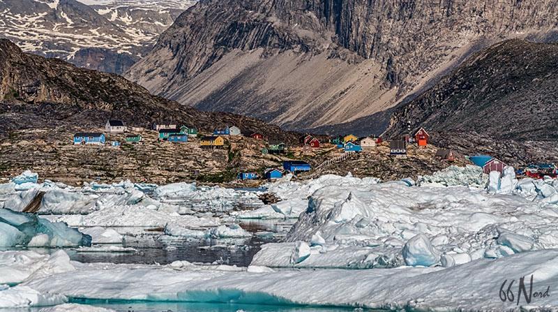 Voyage au Groenland, à Qeqertaq