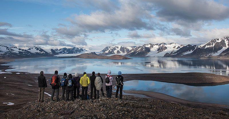 Voyageurs au Spitzberg, arctique ©Yannick Long