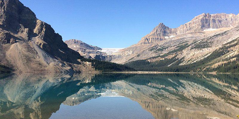 Les montagnes de l'Ouest canadien