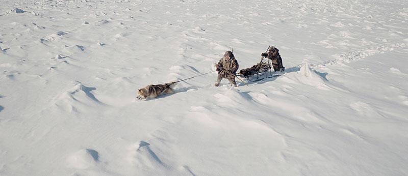 Traineau à chiens en Sibérie, Aga le film