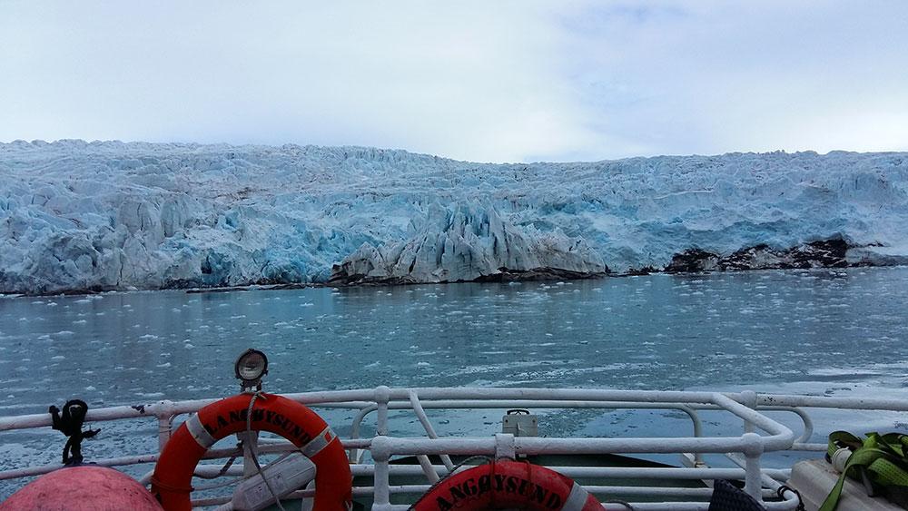 Glacier de l'Isfjord ©Bernard Lugaz