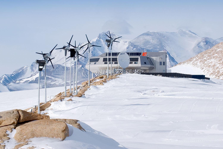 Princess Elisabeth Station ©International polar foundation