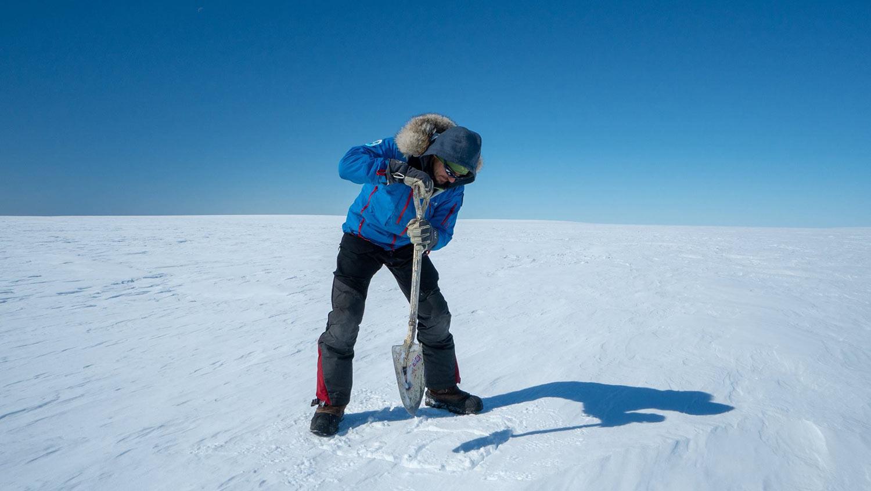 Etudes scientifiques en Antarctique ©Manu Poudelet