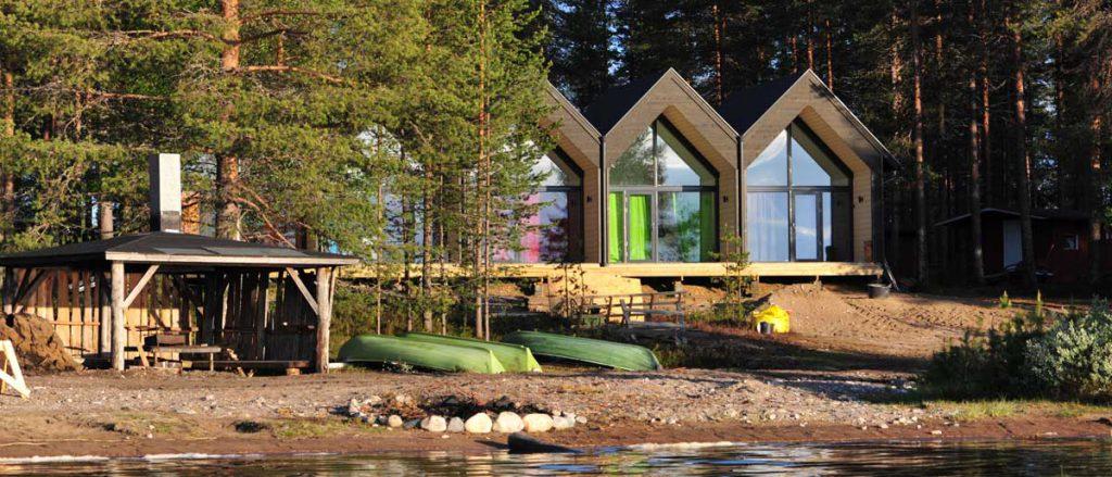Votre lodge confortable en Finlande