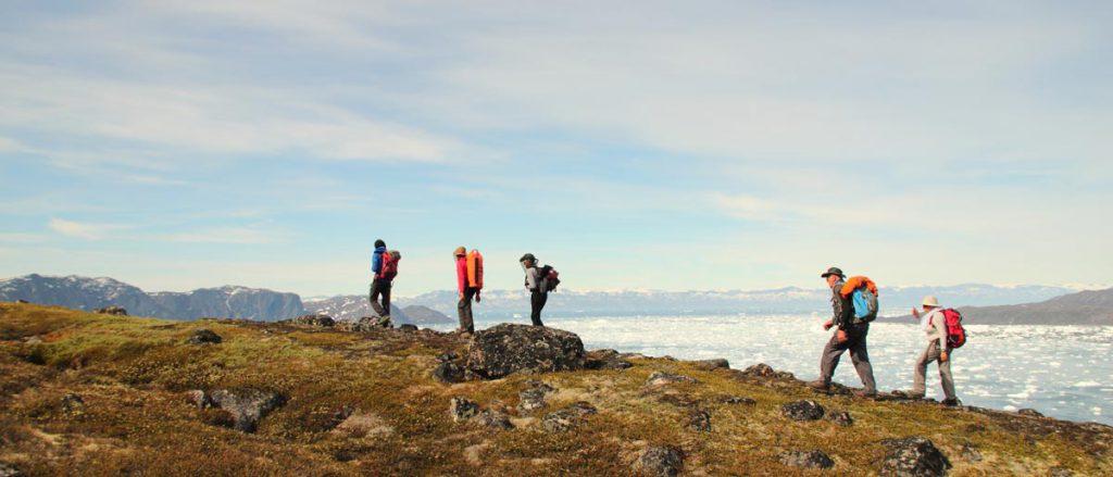 Randonnée estivale au Groenland © Emmanuel Renoux