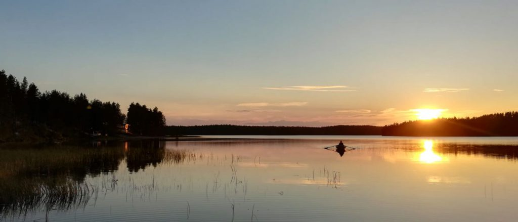 Pêche en Finlande