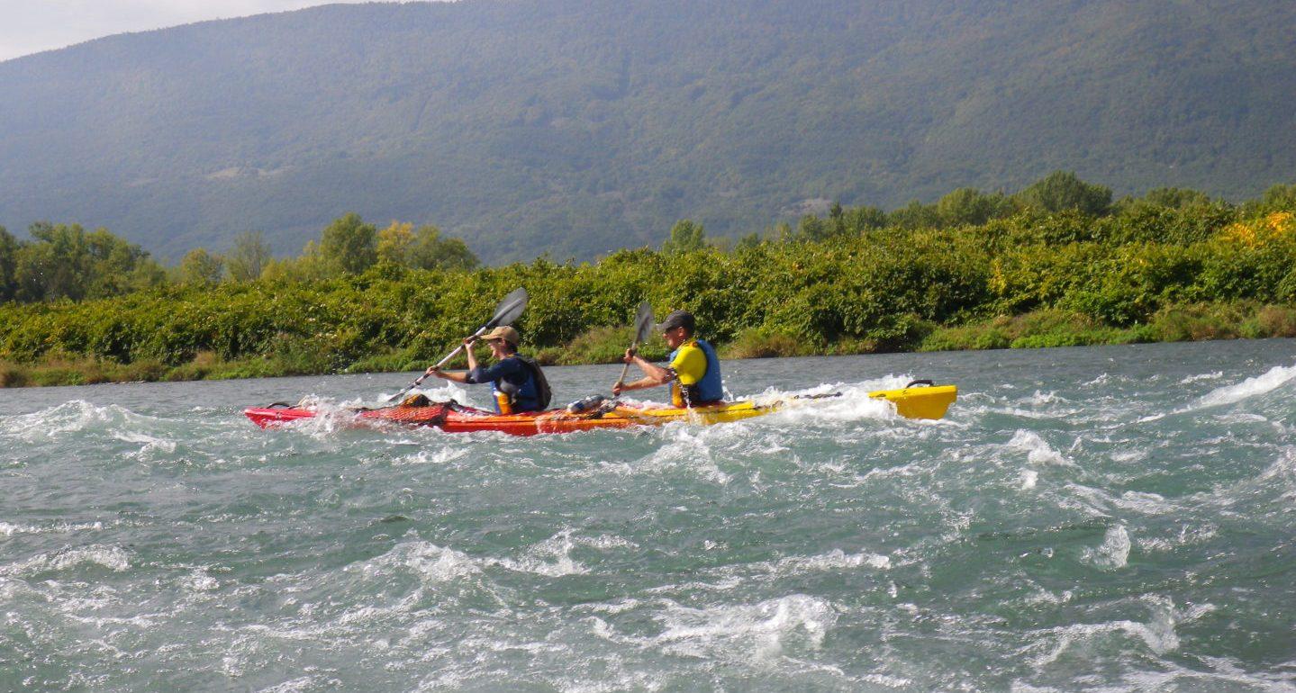Entraînement de l'équipe Aventure Hustive 2 au lac du Bourget