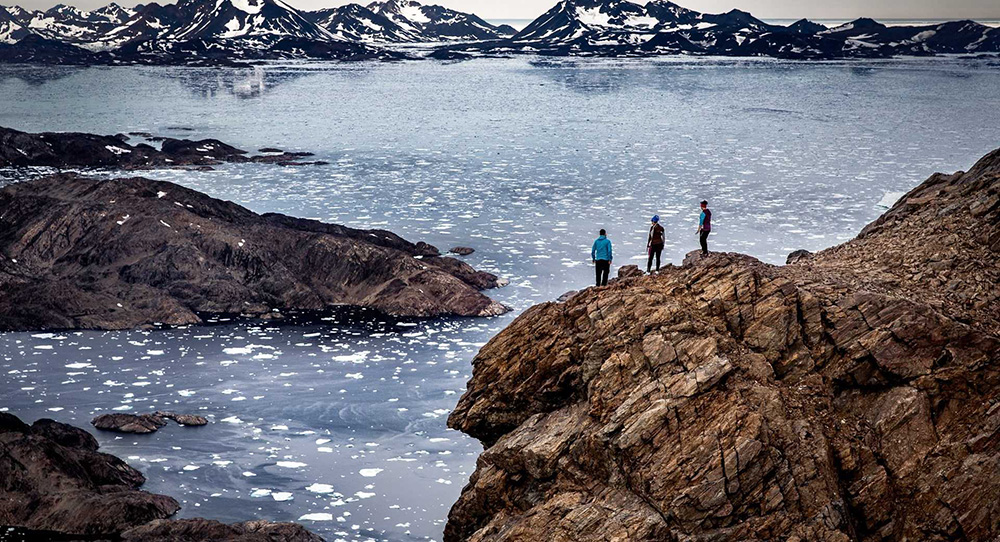 Trek dans l'Est du Groenland ©Visit Greenland
