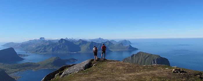 Trek sur les sommets des îles Lofoten ©Jean-Jacques Grignon