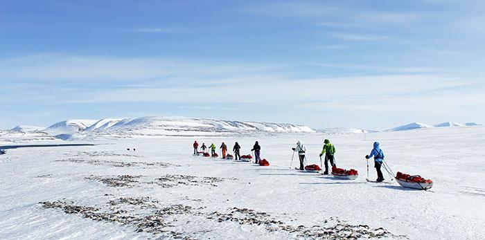 Voyage au Spitzberg à Ski ©Julie Degbe - Responsable webmarketing 66°Nord