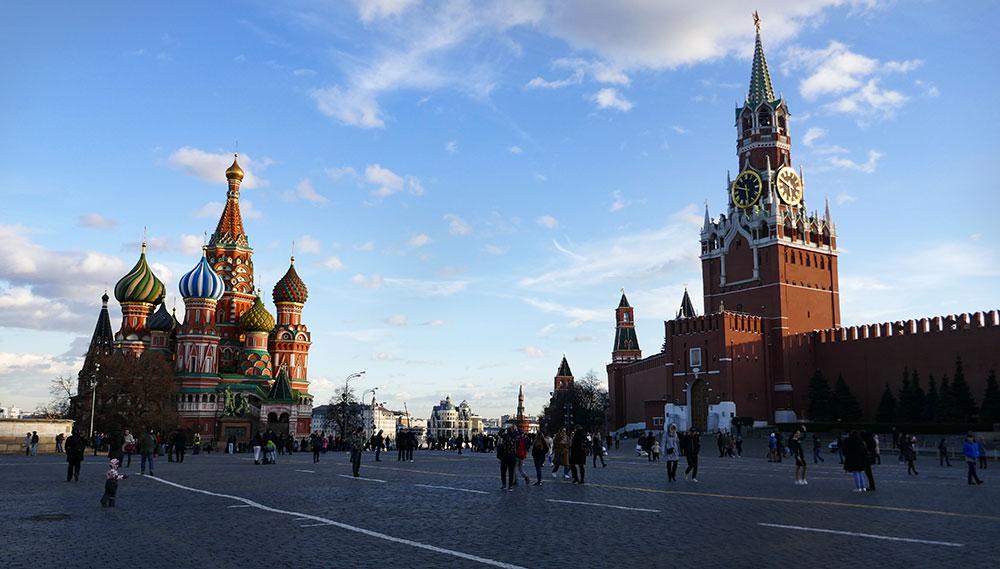 Place rouge de Moscou ©Elodie Roux, équipe 66°Nord