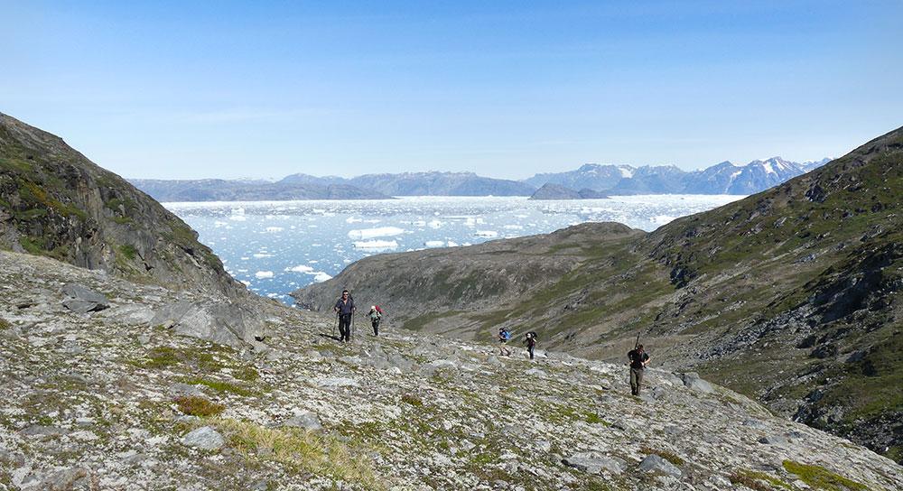 Randonnée au Groenland ©Laurine Bertrand