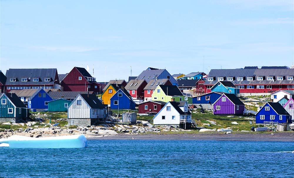 Ilulissat, Groenland. Crédit photo : Clément Legain, guide 66°Nord