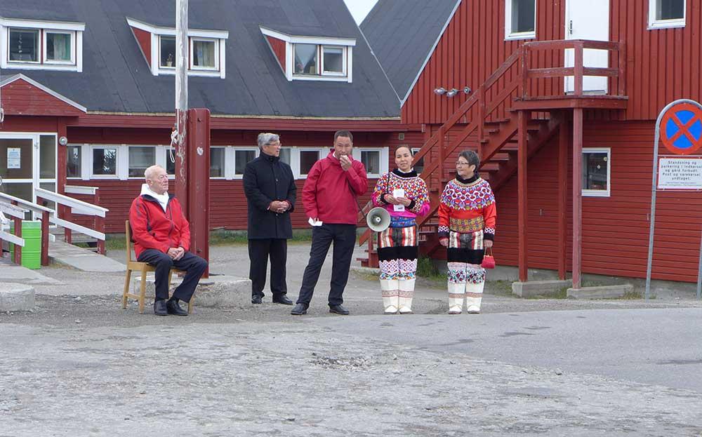 Inuits au Groenland. Crédit : Clément Legain