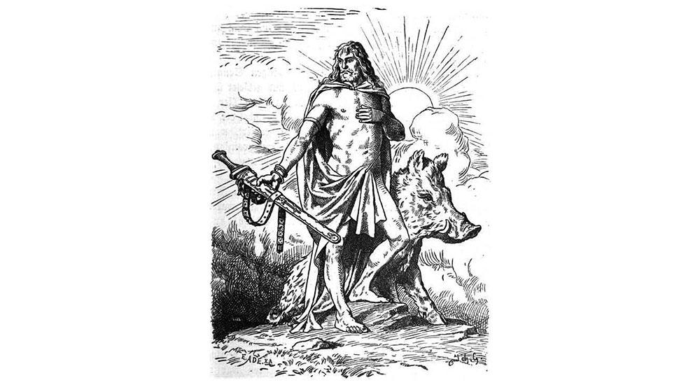 Freyr. Crédit Johannes Gehrts