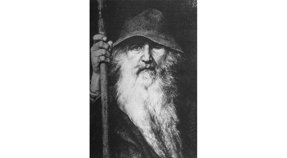 Odin. Georg von Rosen, 1896