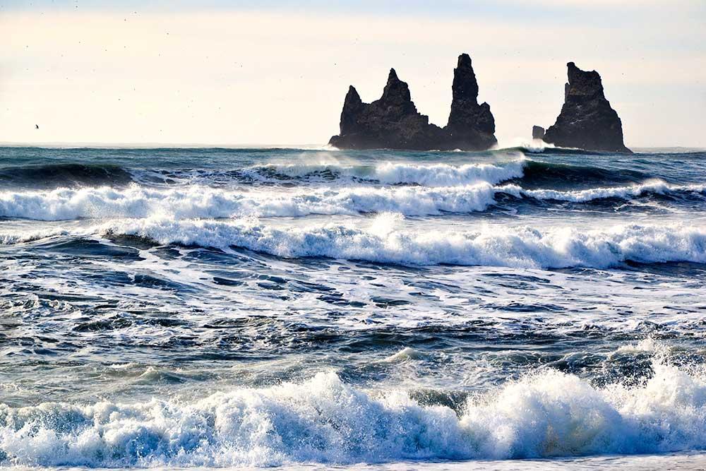 Plage de Vik, Islande ©Caroline Dudziak
