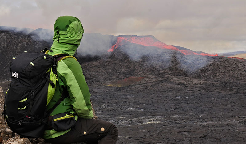 Islande : admirer l'éruption volcanique